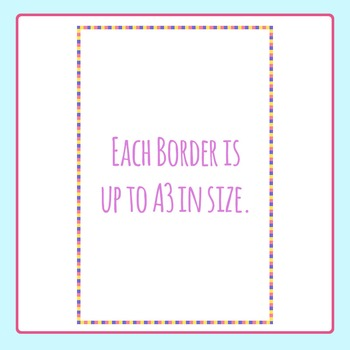 Borders and Frames - A3 Big Pack Commercial Use Clip Art Pack