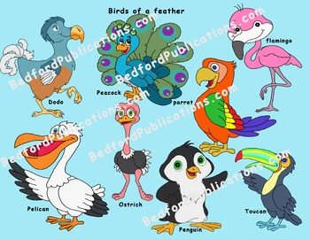 Clipart: Birds of a Feather