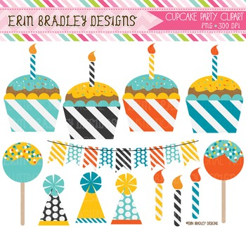 Clipart - Birthday Party Bundle