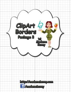 Clipart Border Pack 3