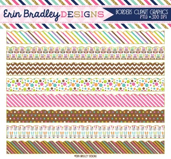 Clipart Borders - Easter Patterns