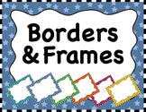 Clipart: Borders & Frames Set #3