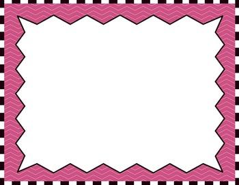 Clipart: Borders & Frames Set #4