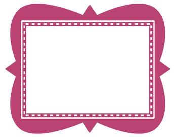 Clipart: Borders & Frames Set #5