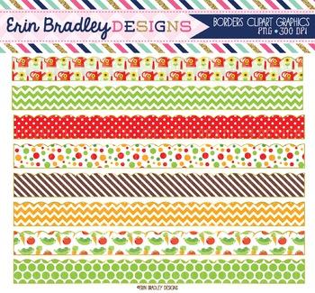 Clipart Borders - Garden Patterns