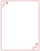 Clipart Borders:40 Floral Doodle Borders with Graphics-Easy-to-Use
