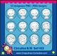 Clipart Boys Girls Black & White PNG Niños y Niñas en blanco y negro Set 143