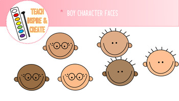 Clipart: Boys and Girls Set