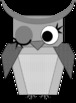 Clipart: Brown & Greyscale Owls FREE Download