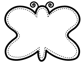 Clipart: Bug Borders