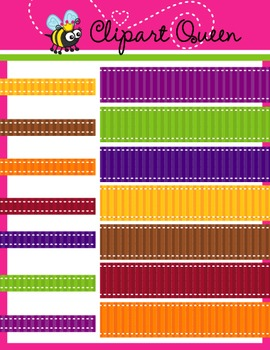 Clipart: Bug Color Ribbon