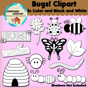 Clipart: Bugs!