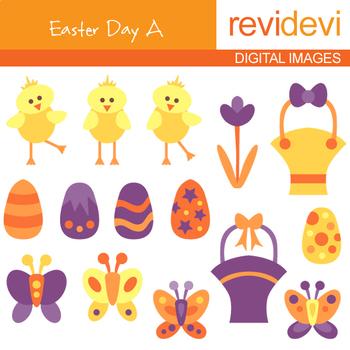 Clipart Bundle / Easter Egg Basket Frame Clip art