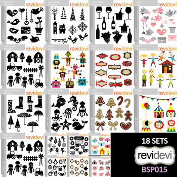 Clipart Bundle Special (Collection 15) by REVIDEVI