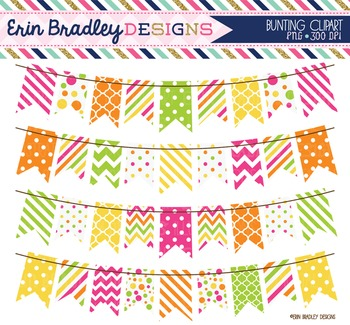 Clipart - Bunting