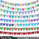 Clipart - Bunting Banners