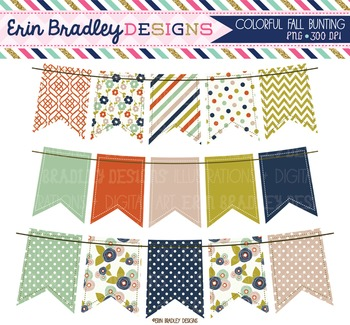 Clipart - Bunting Graphics