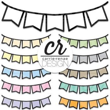 Clipart - Buntings - Banner