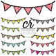 Clipart - Buntings - Pennants