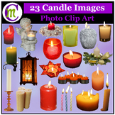 Clipart ♦ Candles Photo Clipart (Clip Art)
