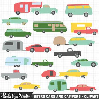 Clipart - Car Silhouettes