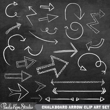 Chalkboard Arrows Clipart