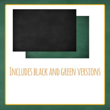 Blackboard or Chalkboard Backgrounds, Borders and Ornaments for Commercial Use