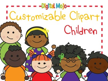 Clipart Children - Customizable