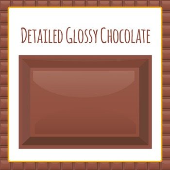 Ten Frames and Fractions Chocolate Theme Clip Art Pack for Commercial Use