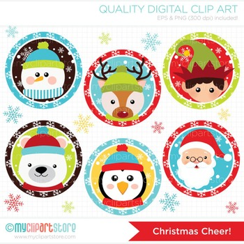 Clipart - Christmas Cheer!