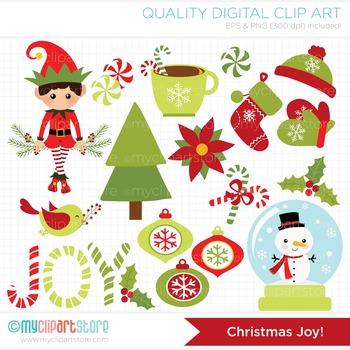 Clipart - Christmas Joy