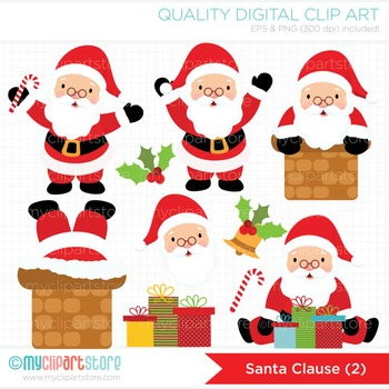 Clipart - Christmas / Santa Clause (2)