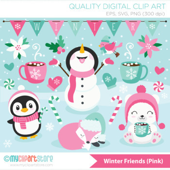 Clipart - Christmas / Winter Time