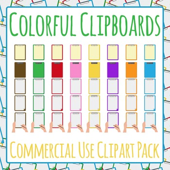 Clipboard Folder Mega Pack - Clip Art Pack for Commercial Use