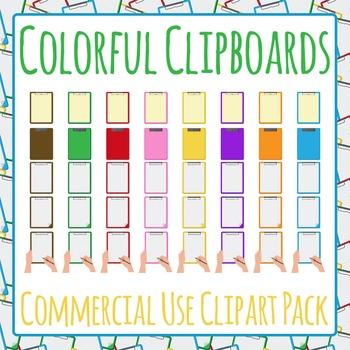 Clipboard Folder Mega Pack - Clip Art Pack for Commercial Use