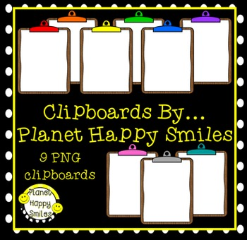 Clipart ~ Clipboards