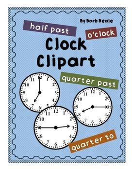 Clipart - Clocks - 48 files