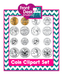 Clipart: Coins - United States Coins