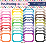 Clipart - Colorful Frames