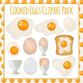 Eggs Clip Art Pack for Commercial Use