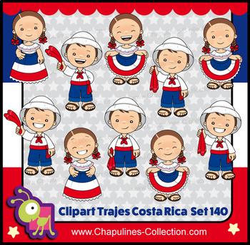 Clipart Costa Rica Set 140