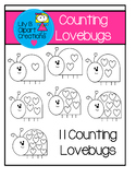 Clipart - Counting Lovebugs