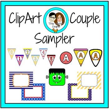 Clipart Couple Free Sampler Bundle