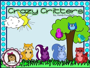 Clipart - Crazy Critters