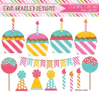 Clipart - Cupcake Party