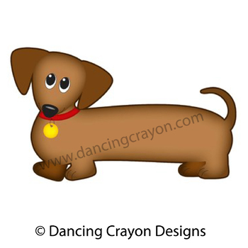 dog clip art dachshund dog wiener dog sausage dog tpt rh teacherspayteachers com clipart of a dog black and white clipart of a donkey