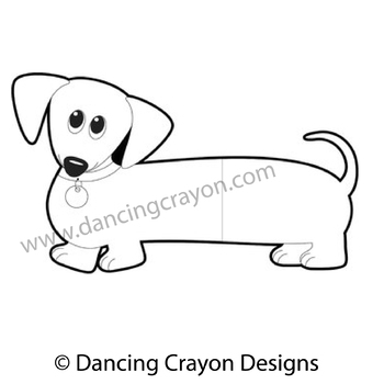 dog clip art dachshund dog wiener dog sausage dog tpt rh teacherspayteachers com Dachshund Black and White Clip Art wiener dog clipart