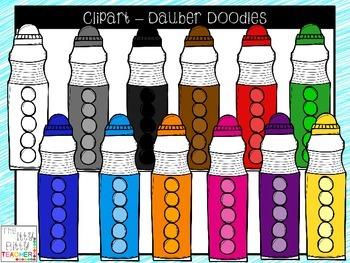 Clipart - Dauber Doodles