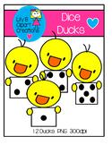 Clipart - Dice Ducks