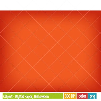 Clipart - Digital Paper and Labels, Halloween
